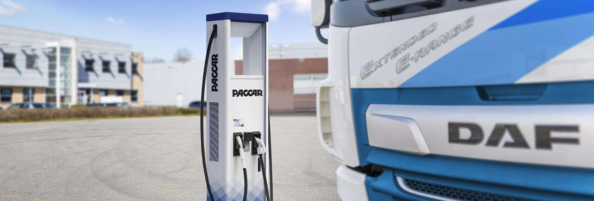 PACCAR Electric charging station