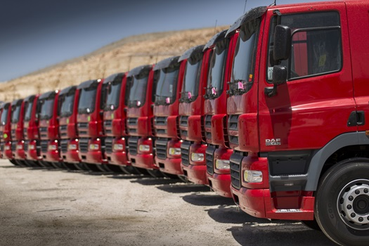 DAF delivers 500th truck to Jordan
