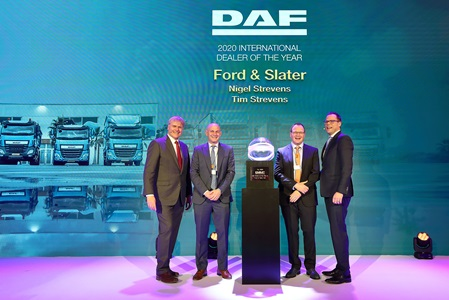 DAF Dealer of the Year Ford & Slater