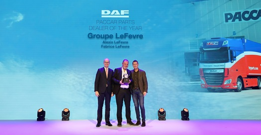 PACCAR Parts Dealer of the Year_Groupe Levevre